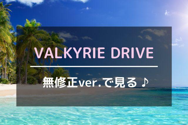 VALKYRIE DRIVEを無修正ver.で見る